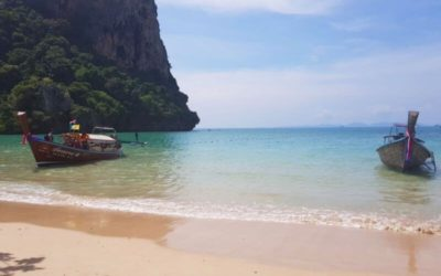 The Beautiful Beaches of Railay, Thailand