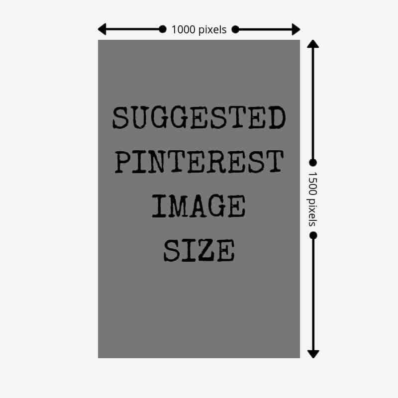 Pinterest Image Size 1000px x 1500px