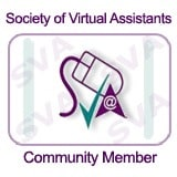 Society of Virtual Assistants -Community Member