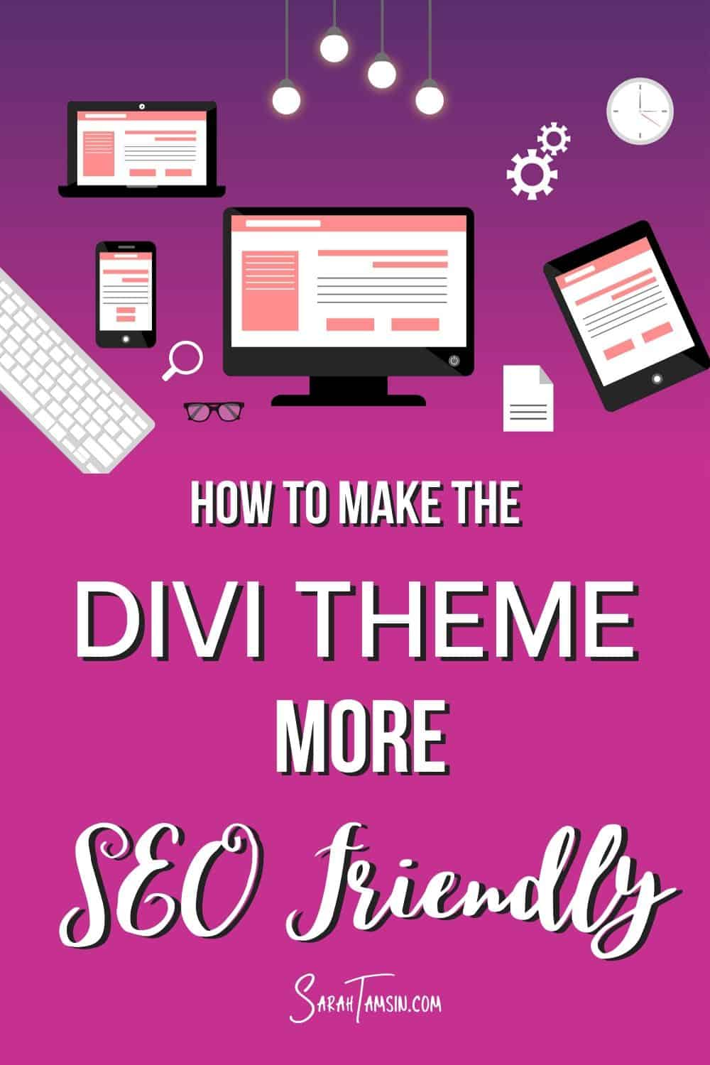 How to make the Divi Theme more SEO Friendly