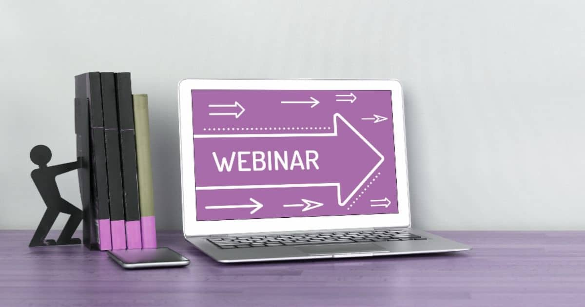 Webinar tips for trainers and presenters running virtual learning sessions