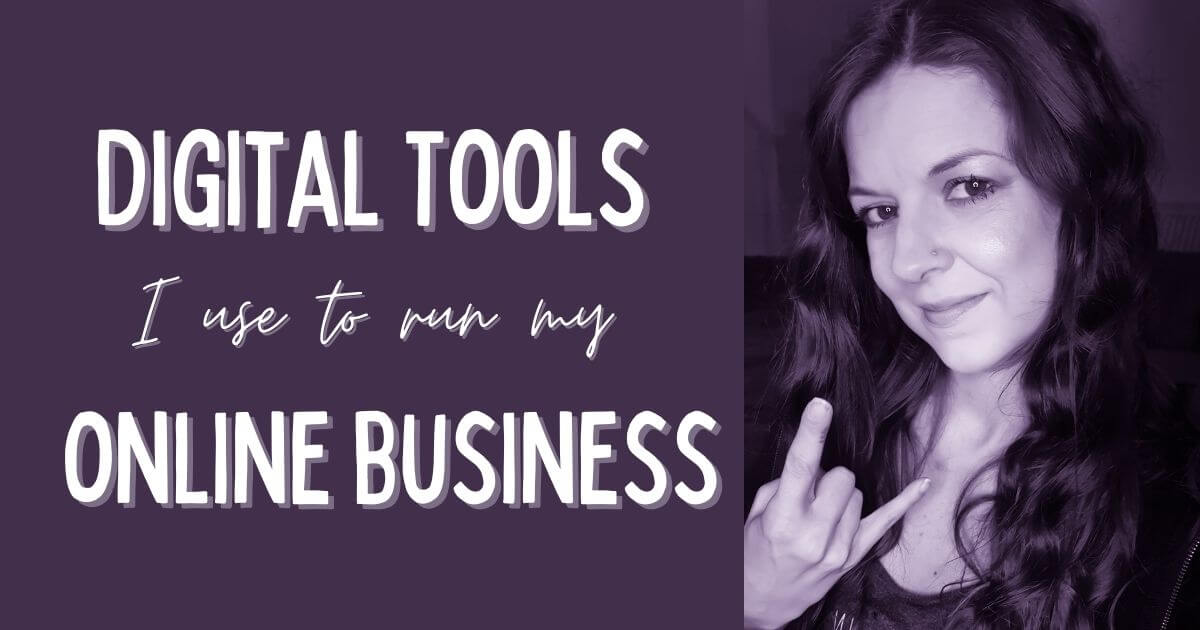 Bets digital tools for small businesses - Digital Tools I use to run my business - Sarah Tamsin