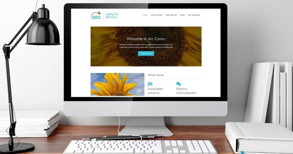 Arc Cymru Website