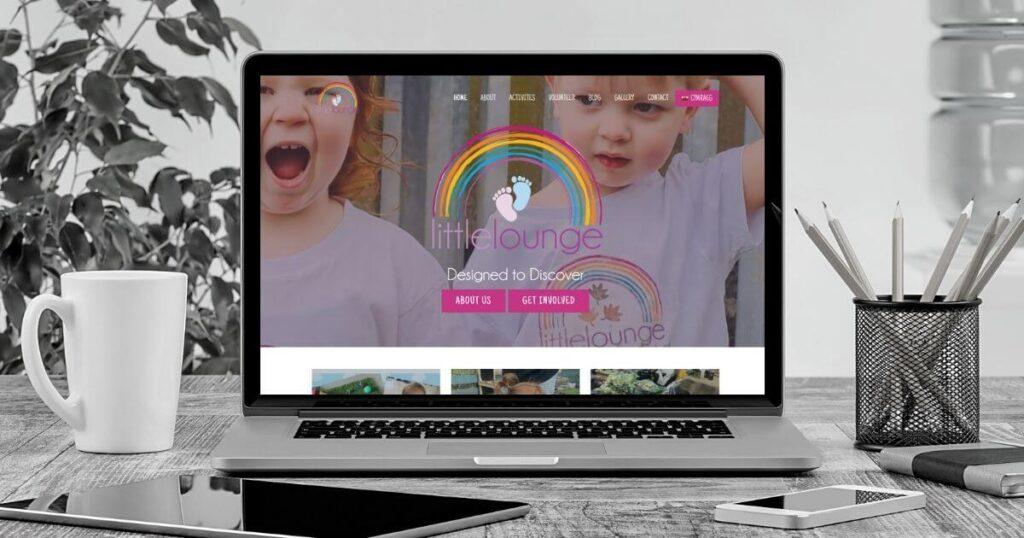 Little Lounge Website Design Mockup