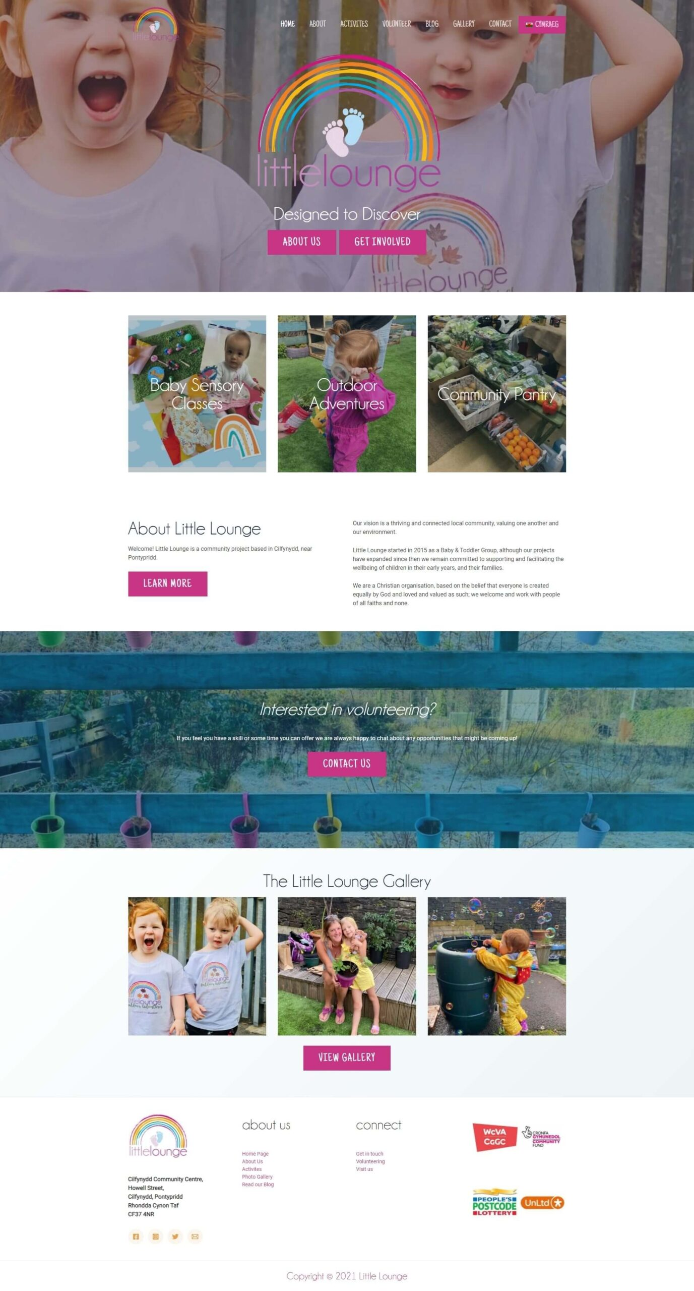 Little Lounge Website Design